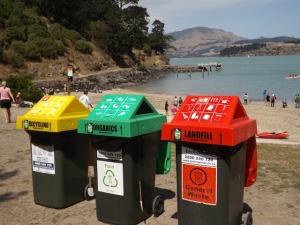 240l bin lids with ODW signage